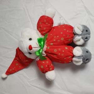 House of Lloyd Holiday Glow in the Dark Teddy bear